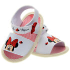 Toddler Baby girls crib shoes white sandals size 0-6 6-12 12-18 Months