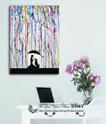 Sempre Abstract Stretched Canvas Print Framed Wall Art Home Decor Painting AU