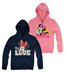 Girls Disney Minnie Mouse Hoodie New Kids Disney Hooded Sweatshirt 3 4 6 8 Year