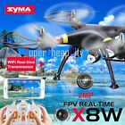 D000 Syma X8W 6 Axis Gyro 4CH Drone Quadcopter Helicopter FPV 2MP WiFi Camera