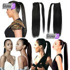 New Design For Beauty Women High Ponytail Human Hair Extensions 100% Human Hair