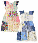 Girls Short Sleeved Floral Gypsy Dress New Kids Cotton Dresses Ages 2-11 Years
