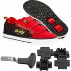Heelys HX2 Shoes Speed Red / Black +FREE Delivery +DVD