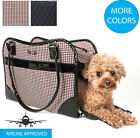 Exquisite Designer Fashion Travel Pet Dog or Cat Carrier Tote Bag Purse