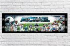 Personalized Carolina Panthers Name Poster with Border Mat Wall Painting Banner $16.0 USD on eBay
