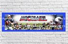 Personalized New England Patriots Name Poster with Border Mat Wall Banner