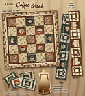 South Sea Imports Coffee Break 100% Cotton Quilting Fabric By the Yard