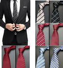 Fashion Necktie Jacquard Woven Wedding Suit and tie Silk  Men's Slim Clothing