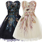Girls Mini Graduation Evening Birthday Masquerade Party Ball Gown Dresses 6~20