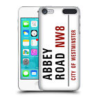 OFFICIAL LONDON STREET SIGNS HARD BACK CASE FOR APPLE iPOD TOUCH MP3