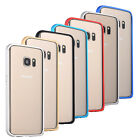 For Samsung Galaxy S7 Thin Aluminum Alloy Metal Frame Bumper Case Cover Skin