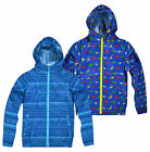 Boys Printed Cagoule New Kids Water Resistant Lightweight Jacket Ages 2-10 Years