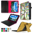 For Verizon Ellipsis 10 4G LTE Tablet Folio Stand Cover Case Bluetooth Keyboard
