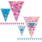 3.5M Birthday Pennants Paper Flag Party Decor Banner Bunting for Children kids