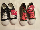 Extremely Me Size 11 Or 12 choice Canvas Athletic Toddler Tie shoes Choice NWT