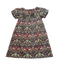 Girl's 2-5 Years Liberty of London Cotton Handmade Dress, Strawberry Thief K