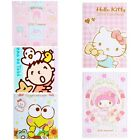 5 PCS LOTS HK SANRIO HELLO KITTY MY MELODY MINA NO TABO 13x9CM 2016 DATEBOOK