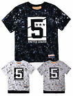 Boys 100% Cotton Printed Short Sleeved T-Shirt New Kids Summer Tops Age 4-14 Yrs