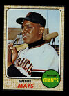 1968 Topps WILLIE MAYS Giants HOF #50 NMMT+