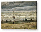 VINCENT VAN GOGH SEA AT SCHEVENINGEN CANVAS ART REPRO  A1, A2, A3, A4