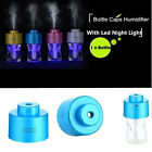 Mini Water Bottle Air Humidifier LED USB Cable Portable Creative Home Small Tool