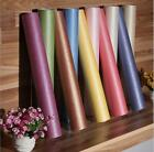 Plain Colors Silk Flocking Wallpaper Roll Feature Natural Effect 10M Wall Paper