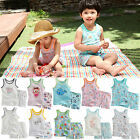 "Vaenait Baby Kid Girl Boy KOREA Sleeveless Outfit Pyjama set ""Baobab Set"" 12M-7T"
