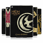 OFFICIAL HBO GAME OF THRONES HOUSE MOTTOS GEL CASE FOR APPLE SAMSUNG TABLETS