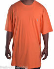 Ralph Lauren Men's Crew Neck Soild Orange Tee Size 2XL Big & Tall