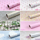 45cmx10m Roll Floral Pattern Vinyl Furniture Wall Paper Sticker W5000+