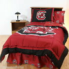 South Carolina Gamecocks Comforter Sham & Valance Twin Full King Size CC