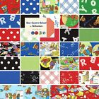 Moda Berenstain Bears Bear Country School Quilting Fabric 100% Cotton By Yard