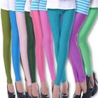 Women's Fashion Candy Fluorescence Color Shiny Pants Leggings Wholesale