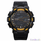 Bestdon Watches Mens Sports Watch Silicone Quartz Military Wrist Watches