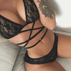Women's Sexy Lingerie Babydoll Sleepwear Underwear Lace Dress G-string Nightwear