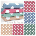 PENNY DOT - 20cm SPOT 100% COTTON FABRIC patchwork craft quilting fashion