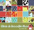 Moda Oink A Doodle Moo Farm Animals Quilting Fabric 100% Cotton By the Yard
