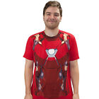 Captain America Civil War Iron Man Suit Adult T-Shirt
