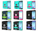 Armor Rubber Hybrid Heavy Duty Shockproof Cover Case For ipad 2 3 4/mini 1 2 3