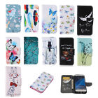 Luxury Painting Leather Folio Wallet Case Cover For Apple Iphone & Ipod 45 D