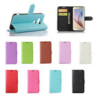 9Colors Litchi Leather Cover Stand Case Pouch For ZTE Mobile Phones 38 A