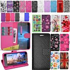 For Microsoft Lumia 650 - Wallet Leather Case Flip Book Cover + Screen Protector