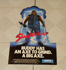 vintage SLAUGHTERHOUSE counter display standee