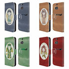 HEAD CASE DESIGNS CHRISTMAS ANGELS LEATHER BOOK WALLET CASE FOR HTC ONE M8 M8S