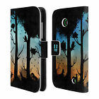 HEAD CASE DREAMSCAPES SILHOUETTES LEATHER BOOK WALLET CASE FOR NOKIA LUMIA 630