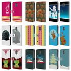 MIX CHRISTMAS COLLECTION LEATHER BOOK WALLET CASE FOR SAMSUNG GALAXY S5 S5 NEO