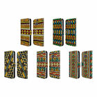 HEAD CASE DESIGNS ETHNIC LINE ART LEATHER BOOK WALLET CASE COVER FOR HTC ONE M8
