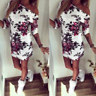 Sexy Women's Summer Floral Bodycon Lace Evening Party Cocktail Short Mini Dress