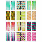 HEAD CASE DESIGNS NEON CHEVRON LEATHER BOOK WALLET CASE FOR APPLE iPHONE 6 6S