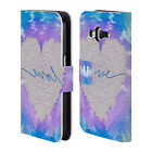 HEAD CASE PSYCHEDELIC LOVE LEATHER BOOK CASE FOR SAMSUNG GALAXY CORE PRIME